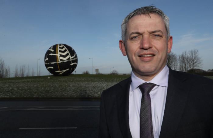 Allan Shine, CEO Co.Kildare Chamber of Commerce Pic : Lorraine O'Sullivan