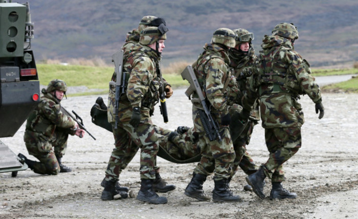 Irish Soldiers Training Missions