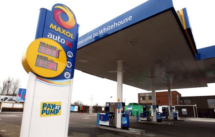 Maxol automatic service station - Belfast
