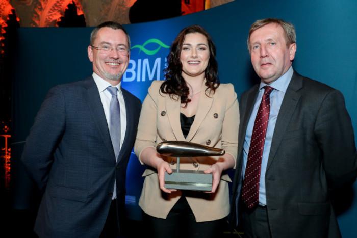 BIM National Seafood Awards - Best Student Kate Dempsey