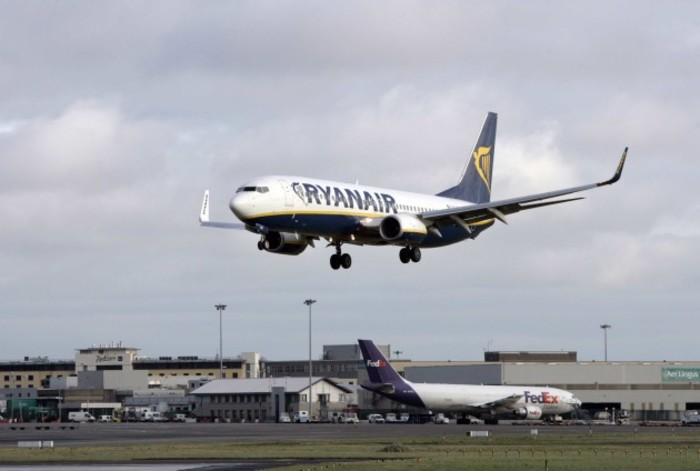 File Photo Strike by Irish-based Ryanair pilots called off after court ruling. End