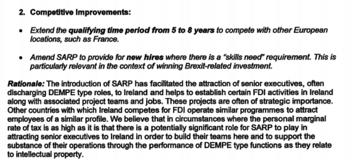 SARP Improvements