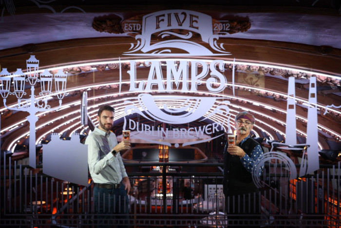 Five Lamps Brewery launch 2