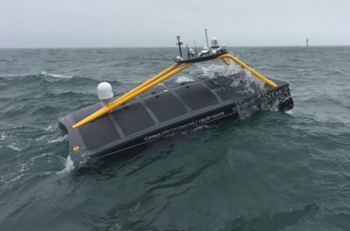 XO-450 USV at Sea (1)