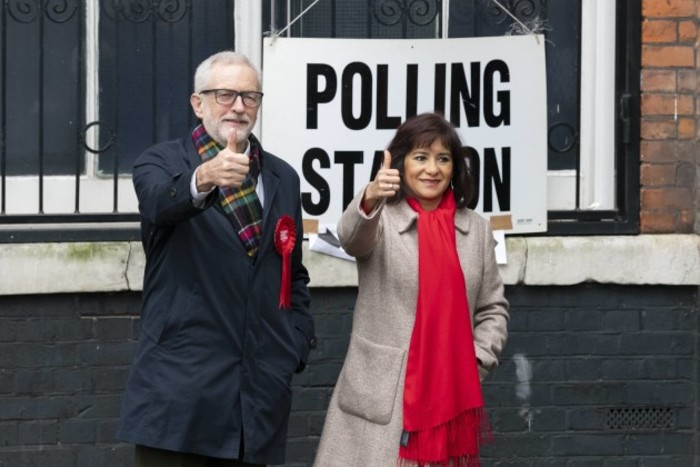 jeremy-corbyn-and-his-wife-laura-alvarez-at-polling-station-during-the-general-elections-london-uk-12122019