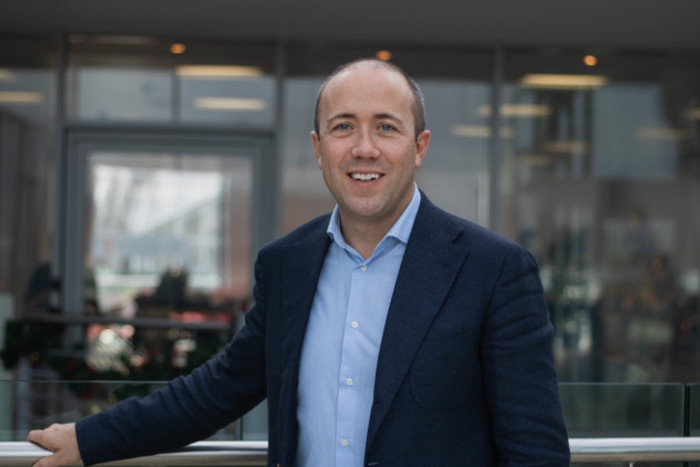 Bertrand Van Overschelde Qualtrics VP Corporate Sales EMEA