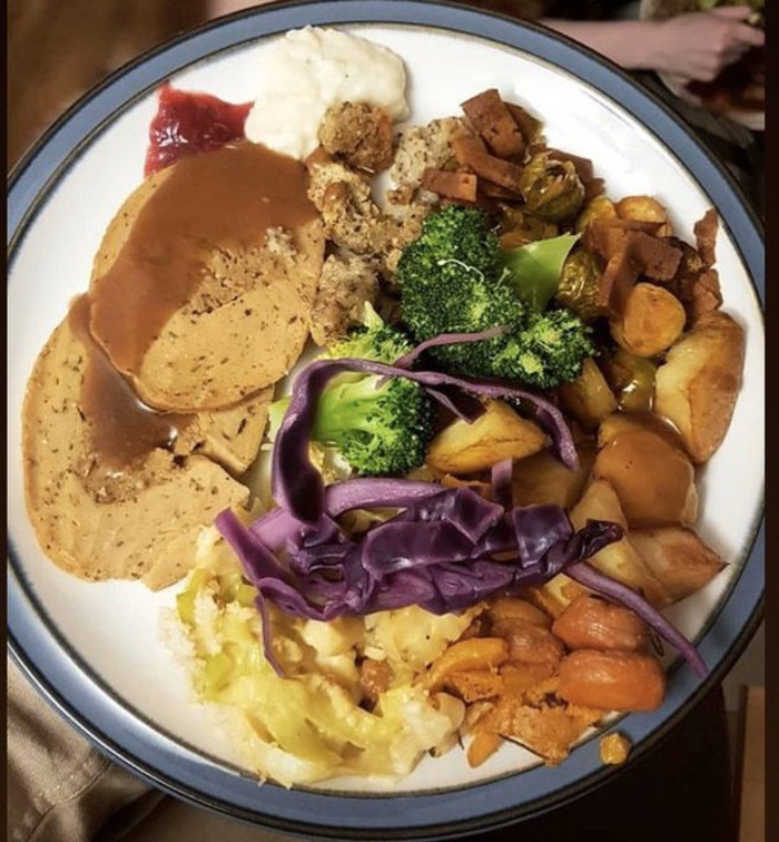 vegan turkey