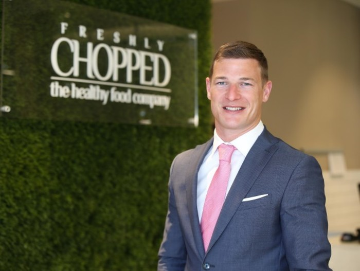 Brian Lee, co-founder and MD of Freshly Chopped 2
