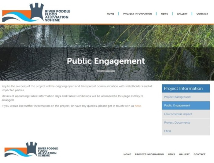Poddle Scheme - Public Engagement Page - 13 May 2020