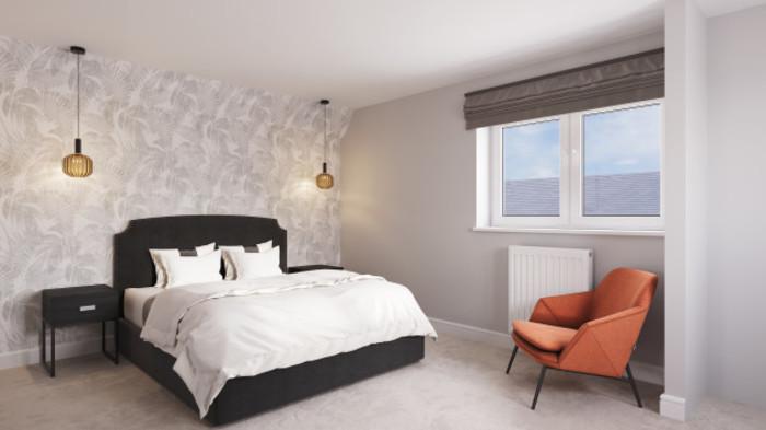 4 Bed Bedroom