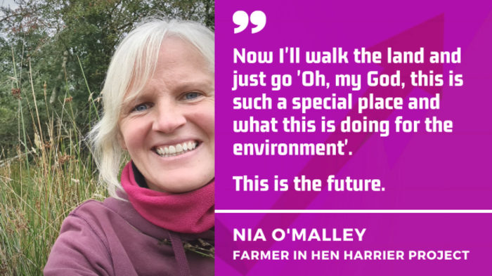 Farmer Nia O'Malley - Now I walk my land and think this is such a special place. This is the future.